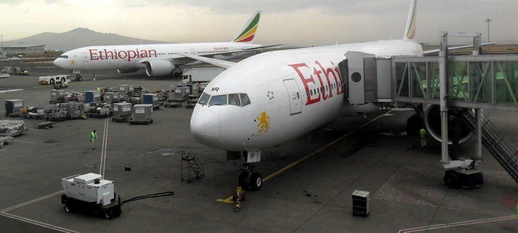 Aerei Ethiopian Airlines